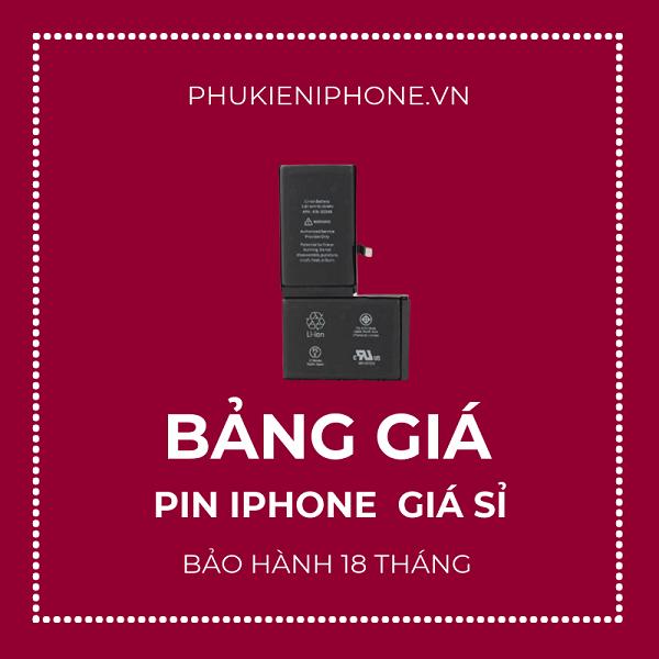 bảng giá pin iphone premium giá sỉ